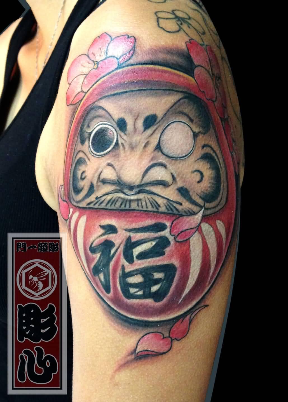 29+ Simple Daruma Doll Tattoos