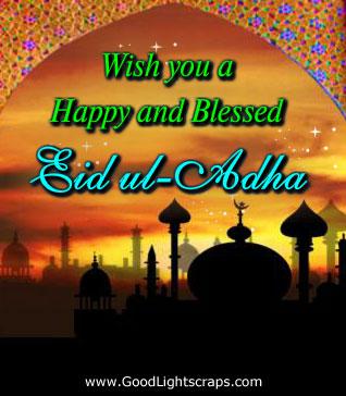 Happy eid al adha greetings 60 wonderful eid al adha wishes pictures and photos m4hsunfo