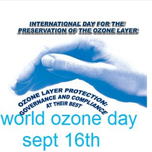 world ozone day The ozone layer is a layer in earth`s atmosphere, that has relatively high concentrations of ozone (o3) it is mainly found in the lower portion of the stratosphere, 15-35km above earth the ozone layer was first discovered by professor gordon dobson of oxford university in 1957.