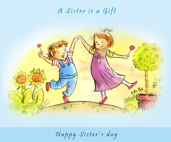 Happy Sister And Brothers Day: 28 Happy Sister's Day Greeting Card Pictures And Images