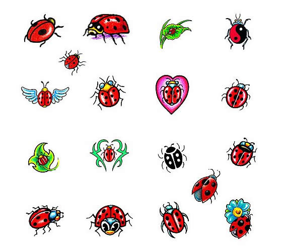 Ladybug Tattoos Designs Ideas And Meaning: 14+ Latest Ladybug Tattoos Designs