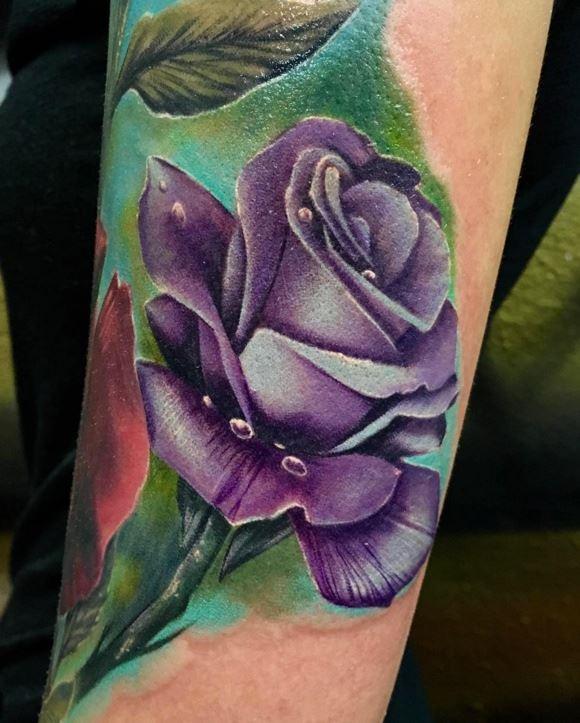Beautiful Flower Tattoos: 4 Beautiful Flowers Tattoos By Geoffery Shelter
