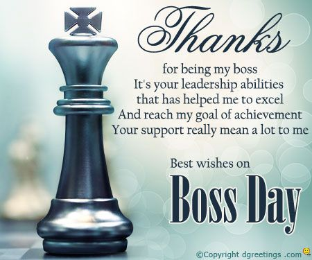 40 Most Beautiful Happy Boss Day 2016 Greetings Pictures ...
