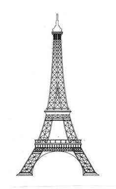 9 Eiffel Tower Tattoo Designs