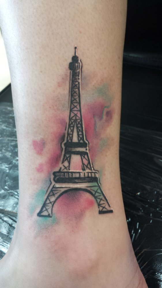 57 famous eiffel tower tattoos rh askideas com Paris France Eiffel Tower Tattoo Winter Eiffel Tower at Night