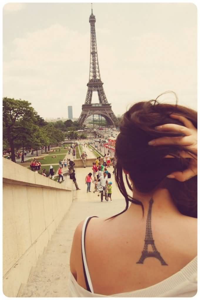 57 Famous Eiffel Tower Tattoos