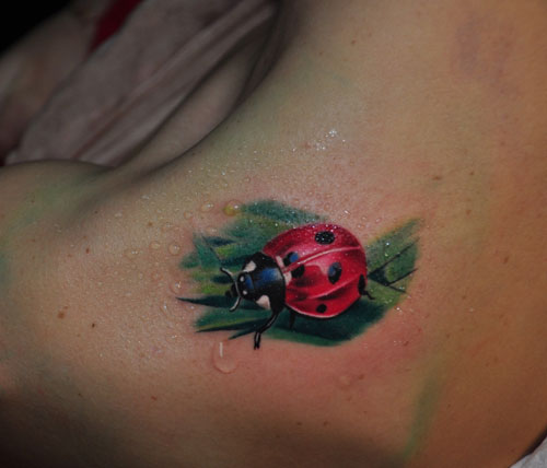 Ladybug Tattoos Designs Ideas And Meaning: 41+ Beautiful Ladybug Tattoos Ideas