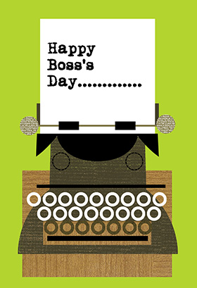 40 wonderful pictures and photos of boss day greetings happy bosss day typewriter picture m4hsunfo
