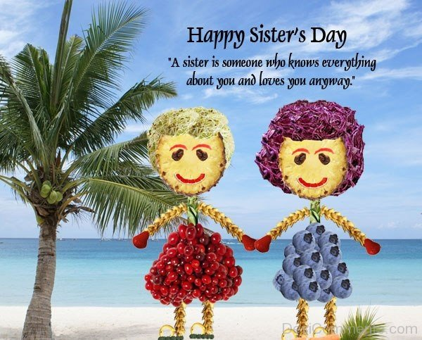 Happy Sisters Day 2017 Wishes, HD Images, Messages, Quotes  |Sisterhood Day