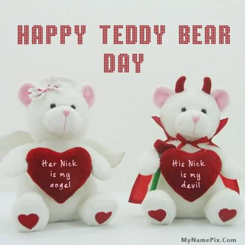 60 Happy National Teddy Bear Day Greetings Pictures And