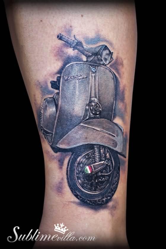 Lambretta Tattoo Designs