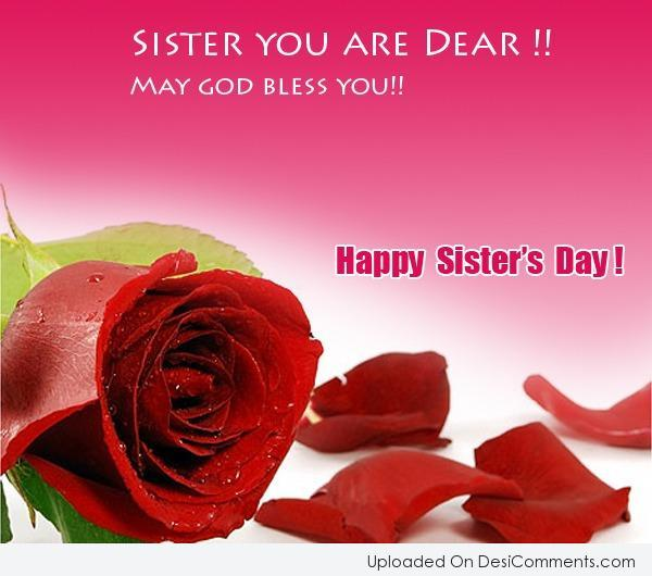 62 Happy Sisters Day 2016 Greeting Pictures And Images