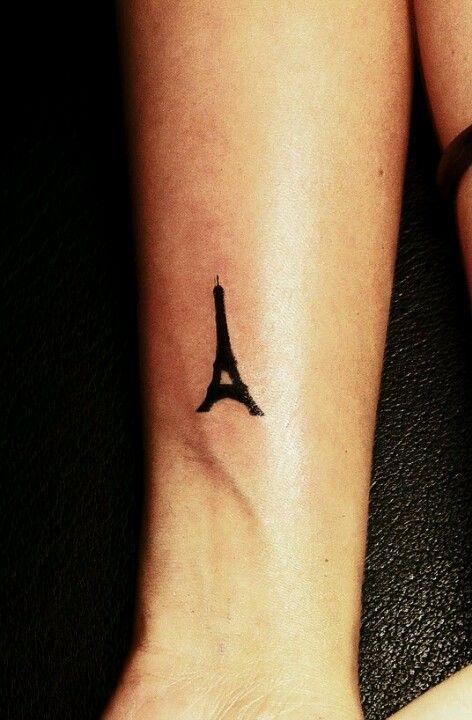57 famous eiffel tower tattoos rh askideas com Winter Eiffel Tower at Night Eiffel Tower Small Finger Tattoos