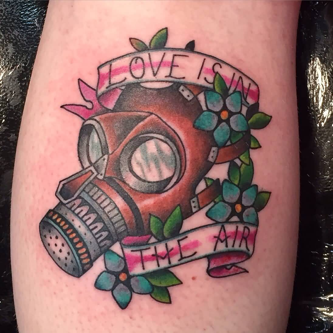 44 best gas mask tattoos collection - 44 Best Gas Mask Tattoos Collection 1096x1096