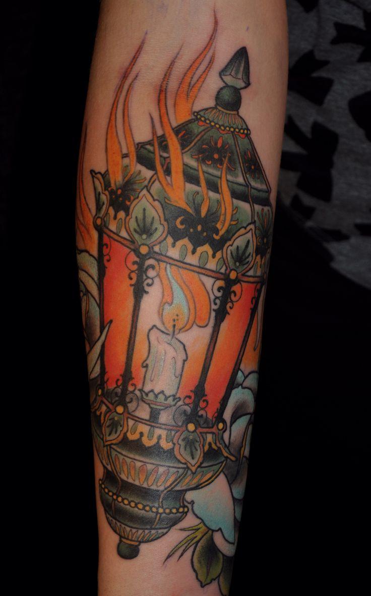 18 Amazing Oil Lamp Tattoos