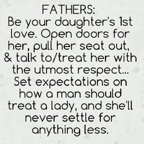 Are not father s love their daughters what
