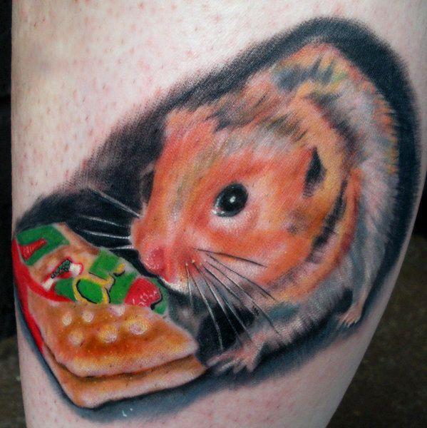 Leg tattoos best tattoo ideas designs - 20 Amazing Hamster Tattoos Collection
