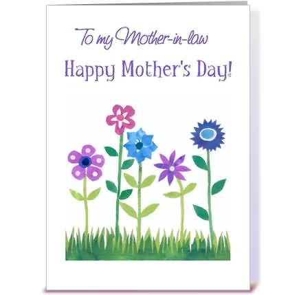 Happy mother in law day greeting card image m4hsunfo