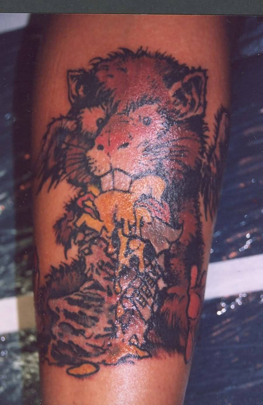 hungry hamster tattoo on sleeve by shannonritchie. Black Bedroom Furniture Sets. Home Design Ideas