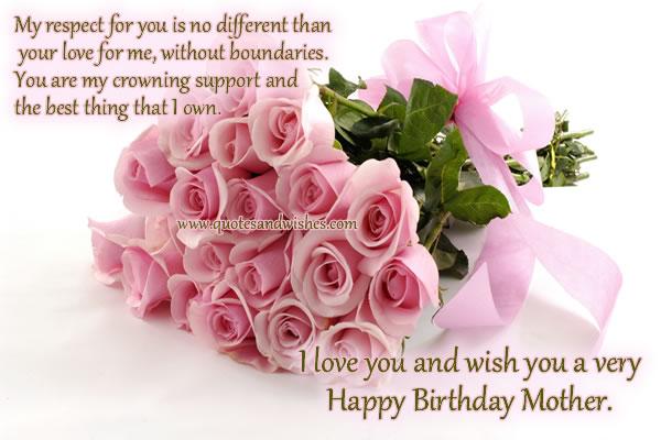 Happy Birthday Mom Quotes Askideascom