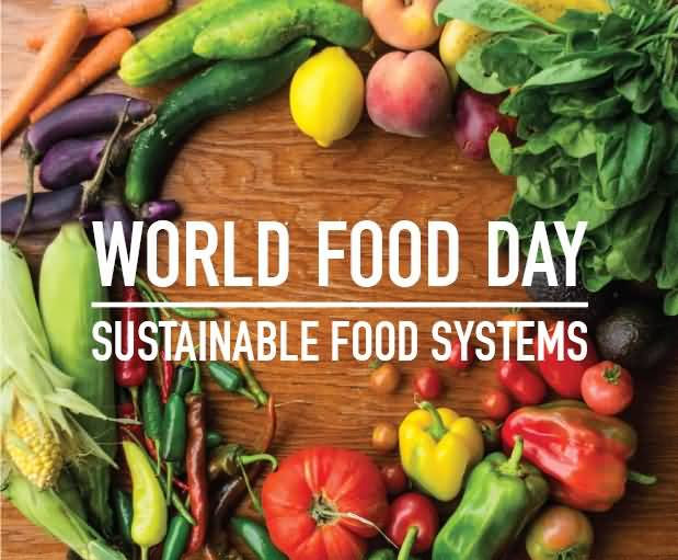 50 Wonderful World Food Day Greeting Pictures And Images