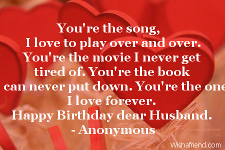Love Birthday Quotes Prepossessing You're The Song I Love To Play Over And Overyou're The Movie I