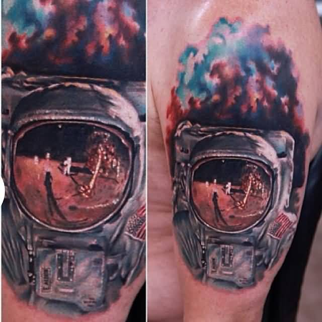 57+ Wonderful Astronaut Tattoos
