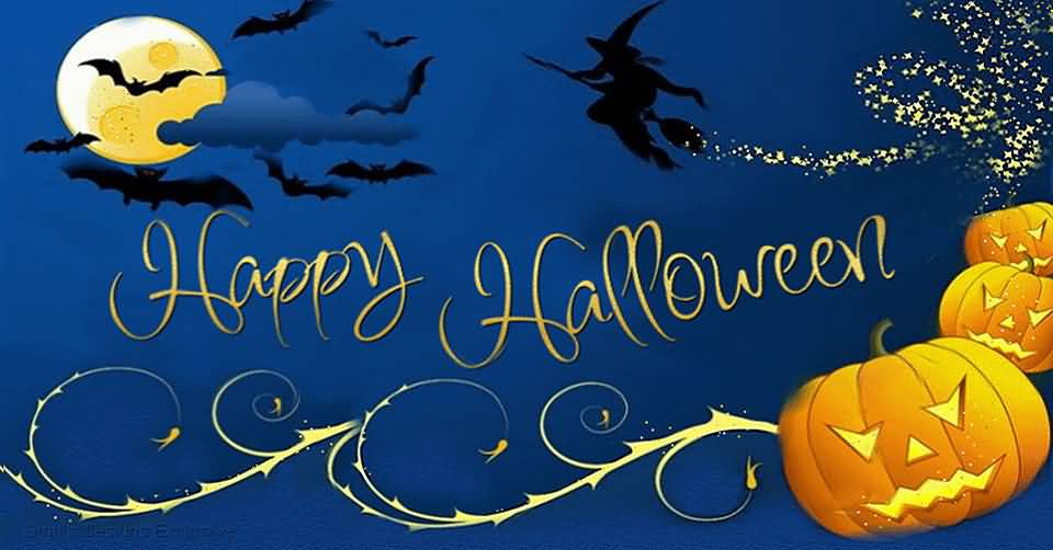 Happy Halloween Wishes Image For Facebook