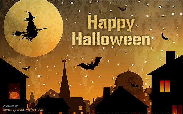 Happy halloween wishes picture m4hsunfo