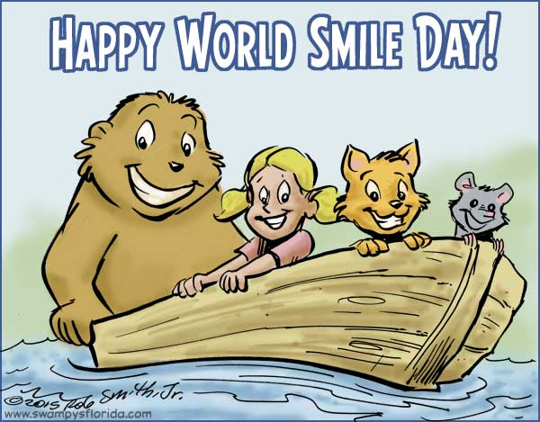 Image result for when is happy smile day 2016 pix