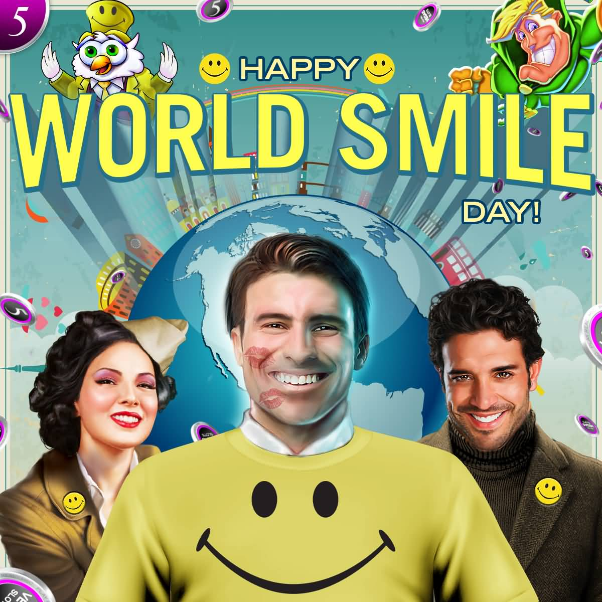 50 Best World Smile Day Greeting Pictures And Photos