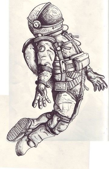 8+ Astronaut Tattoo Design