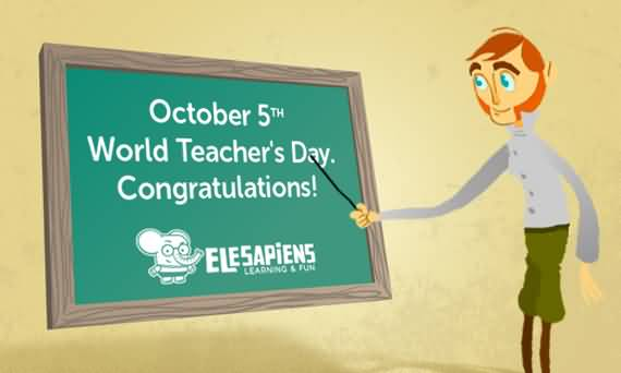 40 Best Greetings For Happy World Teachers Day 2016 Images ...