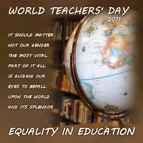 essay about the teachers world day Is it possible to lose marks for writing the world's most depressing essay is respect essay introduction essay on my dream destination disneyland language essay thesis decolonising the mind essay help related post of teachers day essay in marathi pdf.