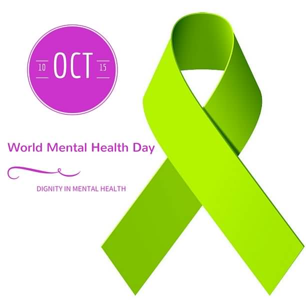10-Oct-World-Mental-Health-Day-Dignity-In-Mental-Health-Ribbon-Picture World Mental Health Day