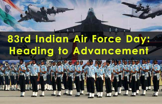 Happy Indian Air Force Day 2016 Wishes Picture