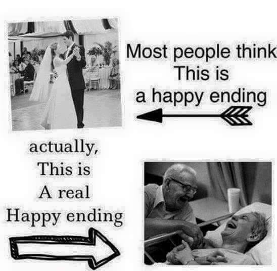 real happy ending