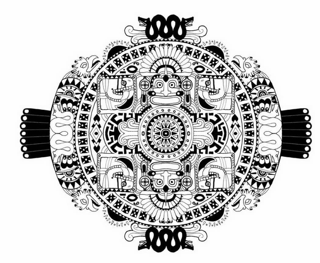 Mayan Sun Designs