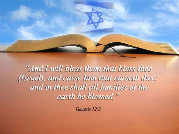 Blessed yom kippur greetings picture and i will bless them that bless thee and curse him that curseth thee and in thee shall all families of the earth be blessed happy yom kippur greeting m4hsunfo