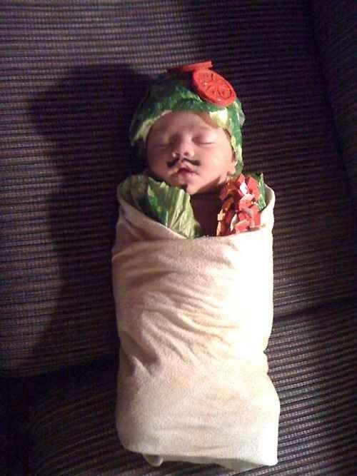baby burnto halloween costume