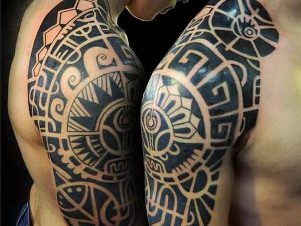 Mayan Armband Tattoos