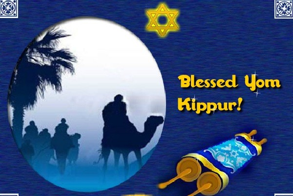 Blessed yom kippur greetings picture m4hsunfo