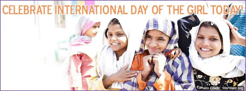 Celebrate International Day Of The Girl Today
