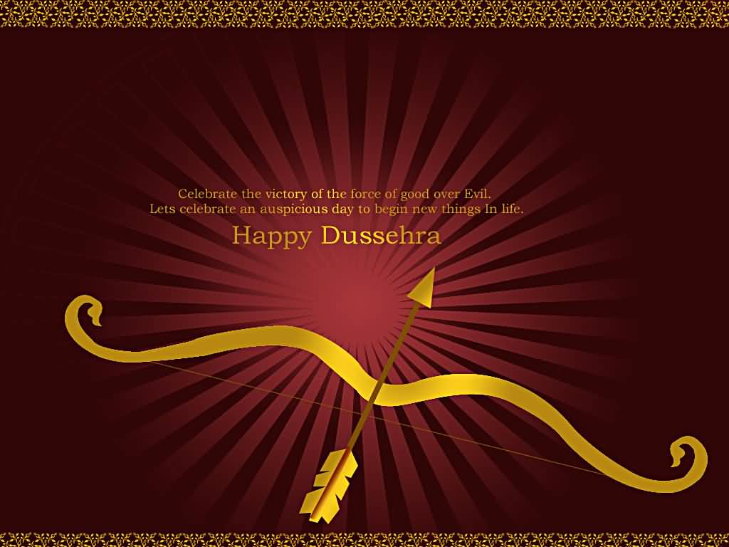 62 most beautiful happy dussehra 2016 greeting pictures and photos celebrate the victory of the force of good over evil lets celebrate an auspicious day kristyandbryce Images