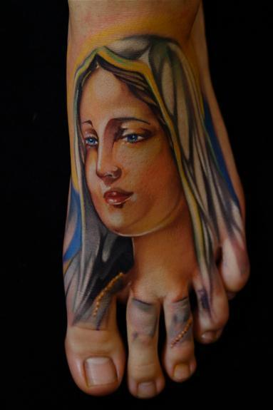 13+ Virgin Mary Tattoo...