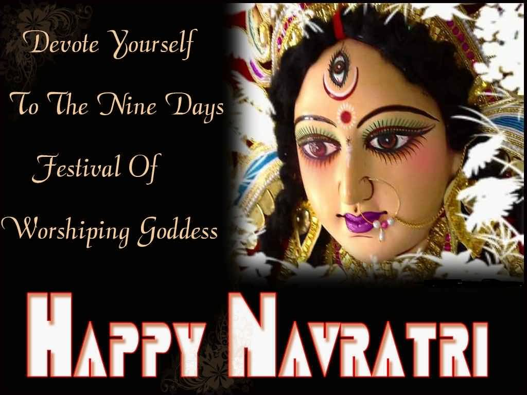 55 Most Beautiful Happy Navratri 2016 Greeting Images And Photos