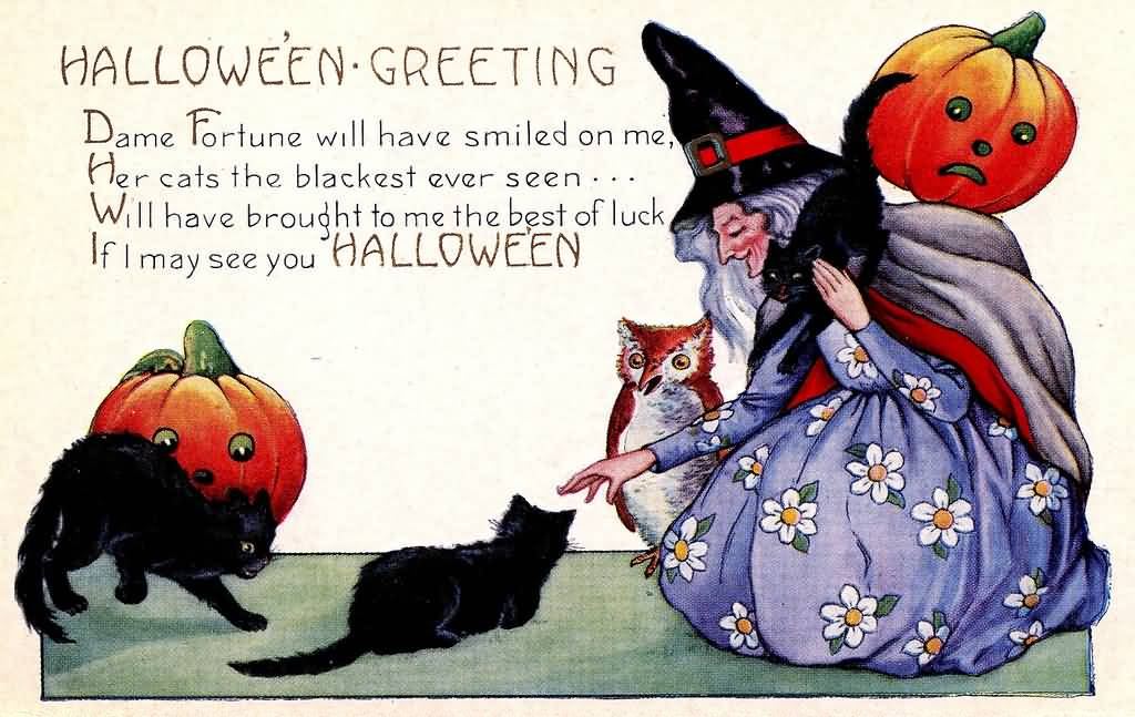 35 best happy halloween 2016 greeting images and photos halloween greeting dame fortune will have smiled on me happy halloween 2016 m4hsunfo