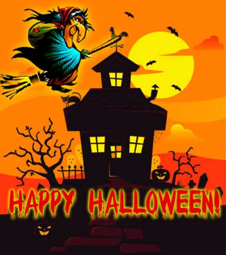 happy halloween 2016 wishes to you - Halloween Card Quotes