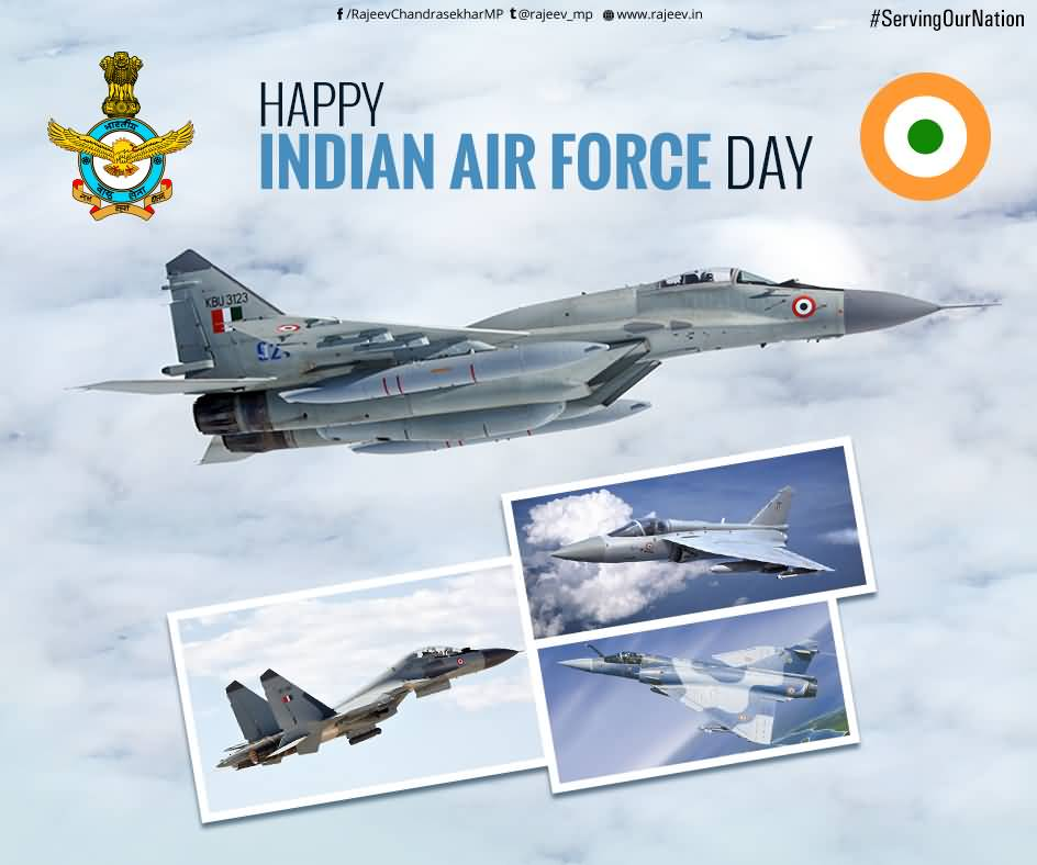 44 Indian Air Force Day 2016 Wish Photos And Pictures