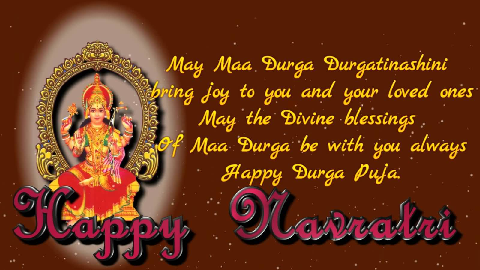 Happy navratri may maa durga durgatinashini bring joy to you and happy navratri may maa durga durgatinashini bring joy to you and your loved ones may the kristyandbryce Choice Image